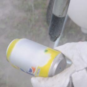 Sodastrahlen Blechdose